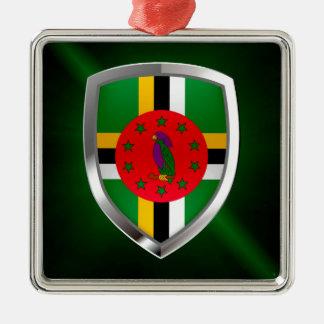 Adorno Metálico Emblema de Dominica Mettalic