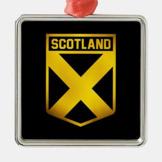 Adorno Metálico Emblema de Escocia