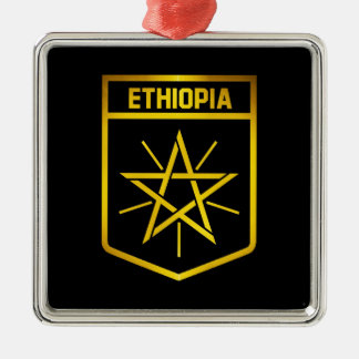 Adorno Metálico Emblema de Etiopía