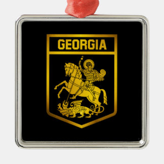 Adorno Metálico Emblema de Georgia