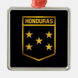 Adorno Metálico Emblema de Honduras