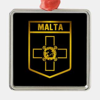 Adorno Metálico Emblema de Malta