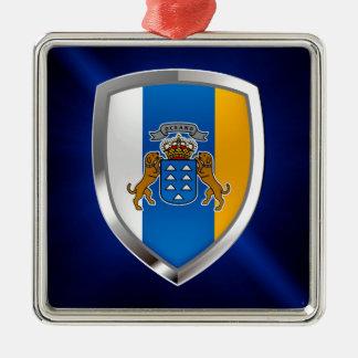 Adorno Metálico Emblema de Mettalic de las islas Canarias