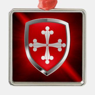Adorno Metálico Emblema de Pisa Mettalic