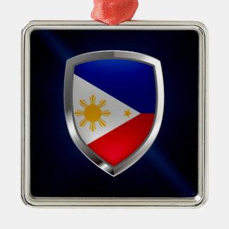 Adorno Metálico Emblema metálico de Filipinas