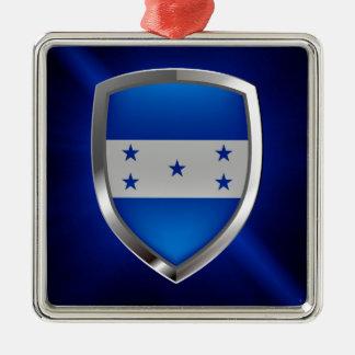 Adorno Metálico Emblema metálico de Honduras