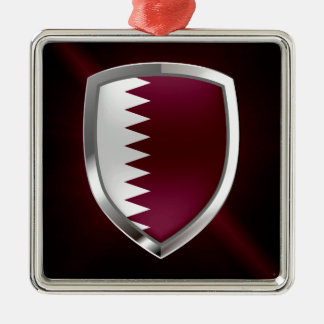 Adorno Metálico Emblema metálico de Qatar