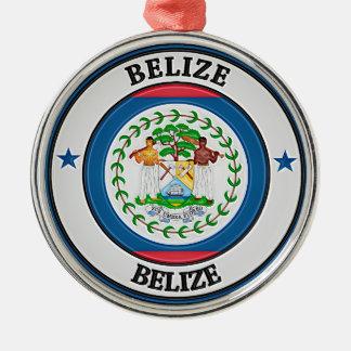 Adorno Metálico Emblema redondo de Belice