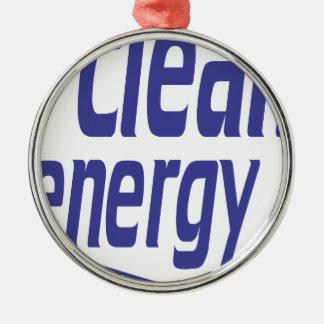 Adorno Metálico Energía limpia