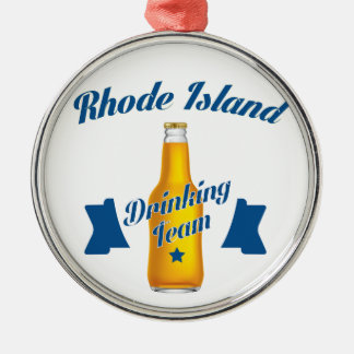 Adorno Metálico Equipo de consumición de Rhode Island