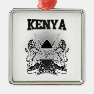 Adorno Metálico Escudo de armas de Kenia
