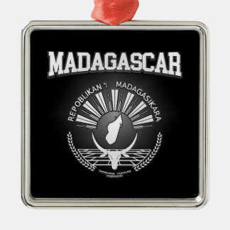 Adorno Metálico Escudo de armas de Madagascar