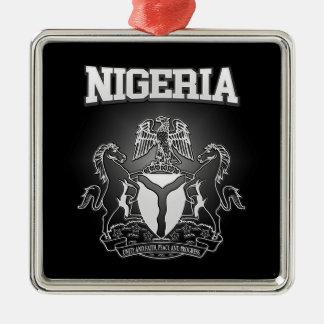 Adorno Metálico Escudo de armas de Nigeria