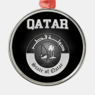 Adorno Metálico Escudo de armas de Qatar
