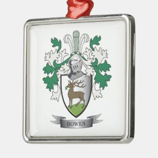 Adorno Metálico Escudo de armas del escudo de la familia de Bowen