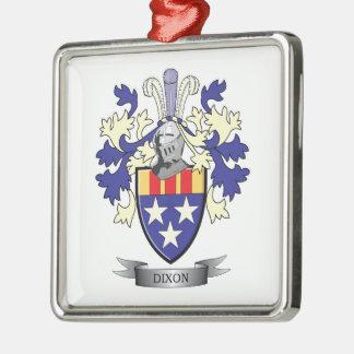 Adorno Metálico Escudo de armas del escudo de la familia de Dixon