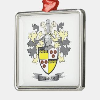 Adorno Metálico Escudo de armas del escudo de la familia de Graham