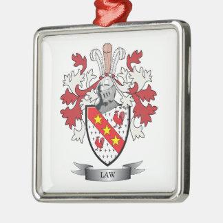 Adorno Metálico Escudo de armas del escudo de la familia de la ley