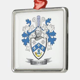 Adorno Metálico Escudo de armas del escudo de la familia de las