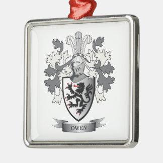 Adorno Metálico Escudo de armas del escudo de la familia de Owen