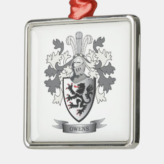 Adorno Metálico Escudo de armas del escudo de la familia de Owens