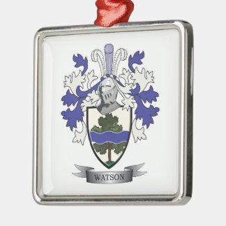Adorno Metálico Escudo de armas del escudo de la familia de Watson