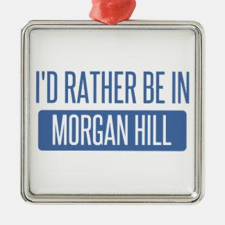 Adorno Metálico Estaría bastante en la colina de Morgan
