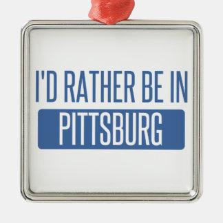 Adorno Metálico Estaría bastante en Pittsburg