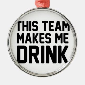 Adorno Metálico Este equipo hace que bebe