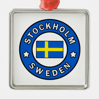 Adorno Metálico Estocolmo Suecia