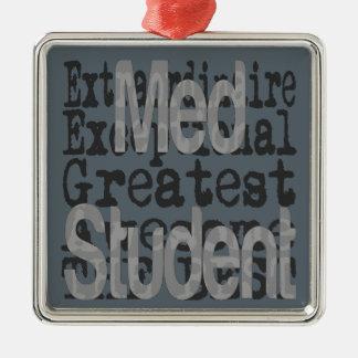 Adorno Metálico Estudiante del MED Extraordinaire