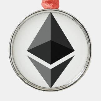 Adorno Metálico Ethereum - Cryptocurrency PAC estupendo