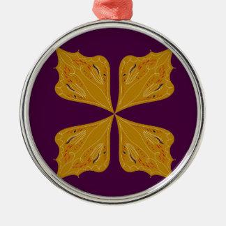 Adorno Metálico Ethno del vino del oro de la mandala del diseño