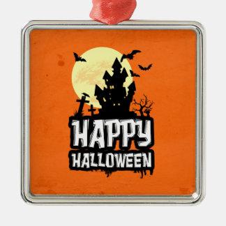 Adorno Metálico Feliz Halloween