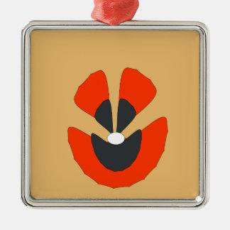 Adorno Metálico flor de lujo