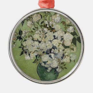Adorno Metálico Florero de Vincent van Gogh de rosas que pintan