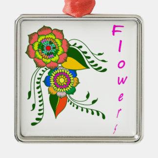 Adorno Metálico flower mandala2