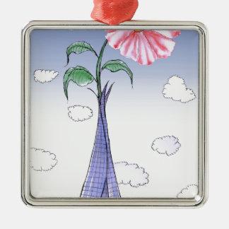 Adorno Metálico Flower power de ShardArt de Tony Fernandes
