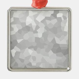 Adorno Metálico Forma gris y blanca Ab del Grayscale moderno - del