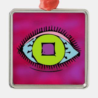 Adorno Metálico Fucsia abstracto colorido fresco del diseño del