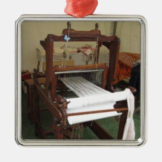 Adorno Metálico Funcionamiento antiguo de la máquina del hilandero