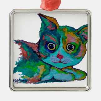 Adorno Metálico Gato del gatito