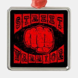 Adorno Metálico guerrero de la calle