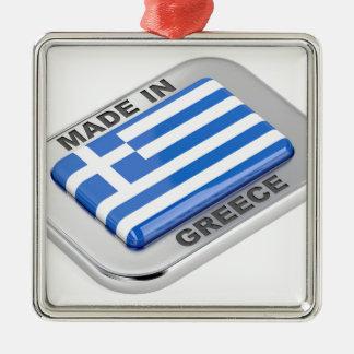 Adorno Metálico Hecho en la insignia de Grecia