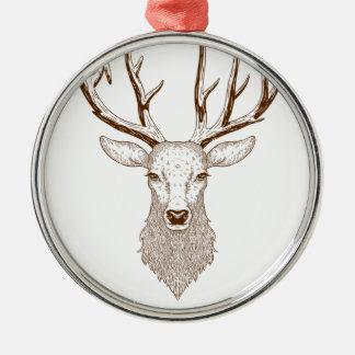 Adorno Metálico Hello Deer