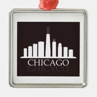 Adorno Metálico horizonte de Chicago