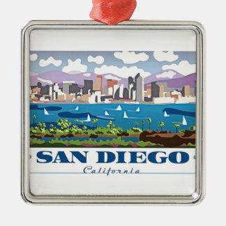Adorno Metálico Horizonte de San Diego