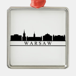 Adorno Metálico horizonte de Varsovia