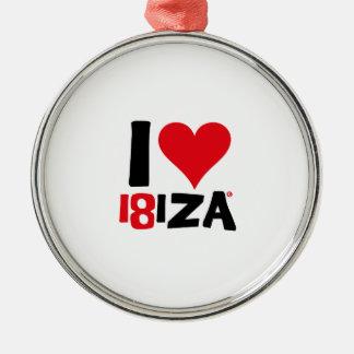 Adorno Metálico I love Ibiza 18IZA Edición Especial 2018
