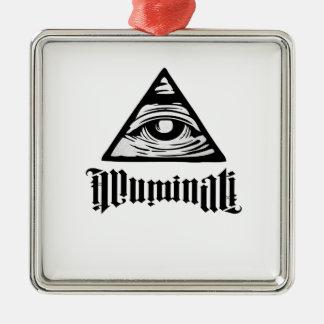 Adorno Metálico Illuminati